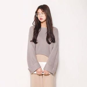Sweaters - Korean sweater OS worn once excellent condition